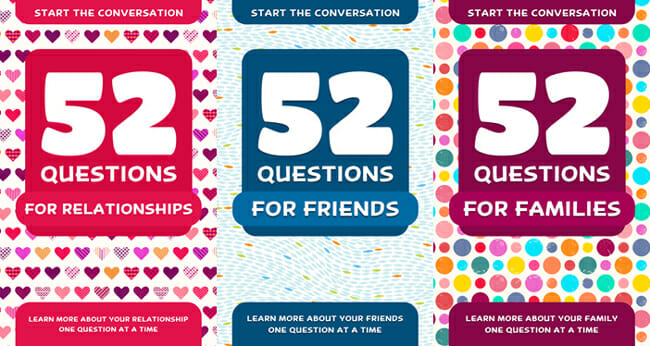 52 Questions: A New Way to Start the Conversation